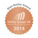 EACSG awarded bronze for the SGUK Alan Butler Awards 2014!