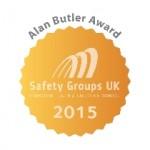 EACSG AWARDED GOLD FOR THE SGUK ALAN BUTLER AWARDS 2015!